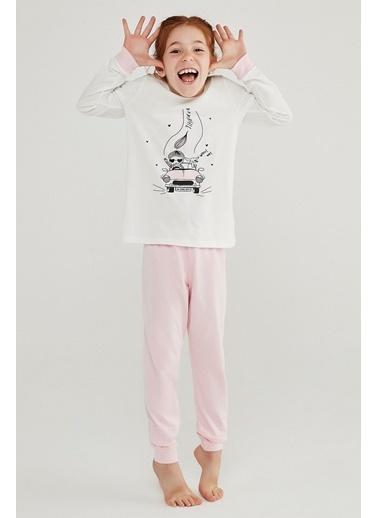 Penti Kız Çocuk Cute Dog 4Lü Pijama Takımı Renkli